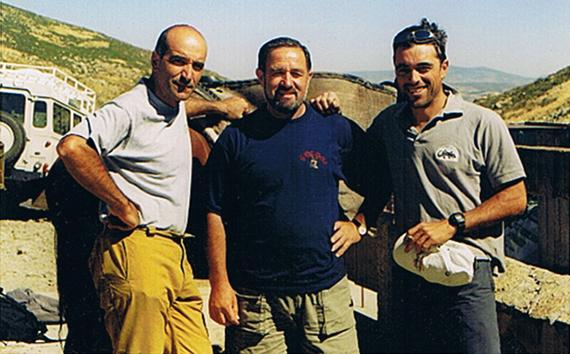 Miguel Angel Vidal, Joaquín Tejado y Oscar Morales